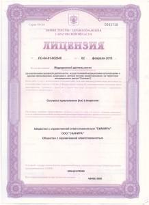 лицензия 1 подл 001