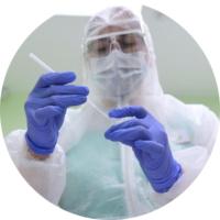 мазок на коронавирус